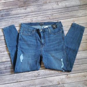 J. Crew Mercantile High-Rise Skinny Jeans